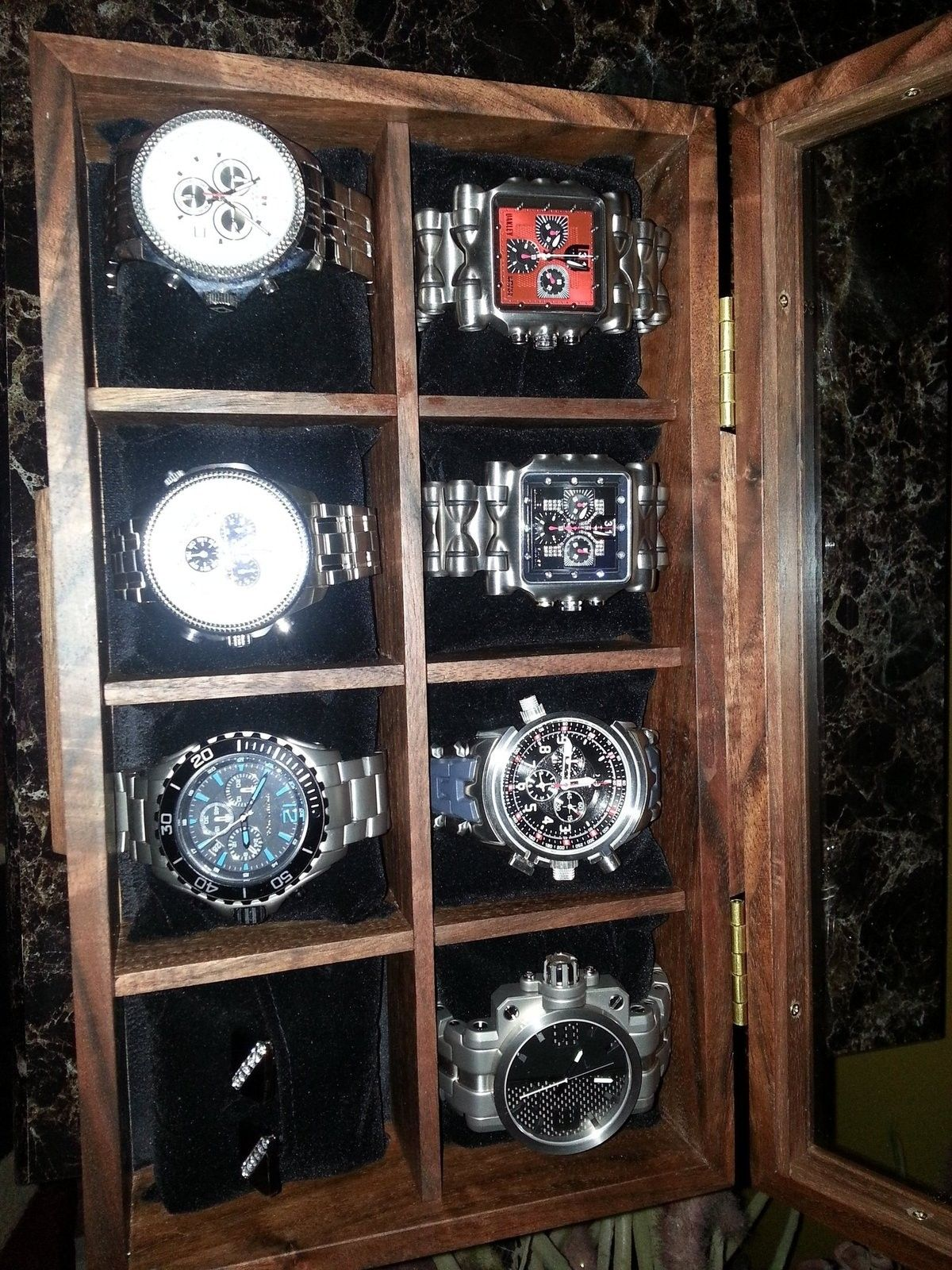 Got a new watch box.....collection growing - 20151201_220241.jpg