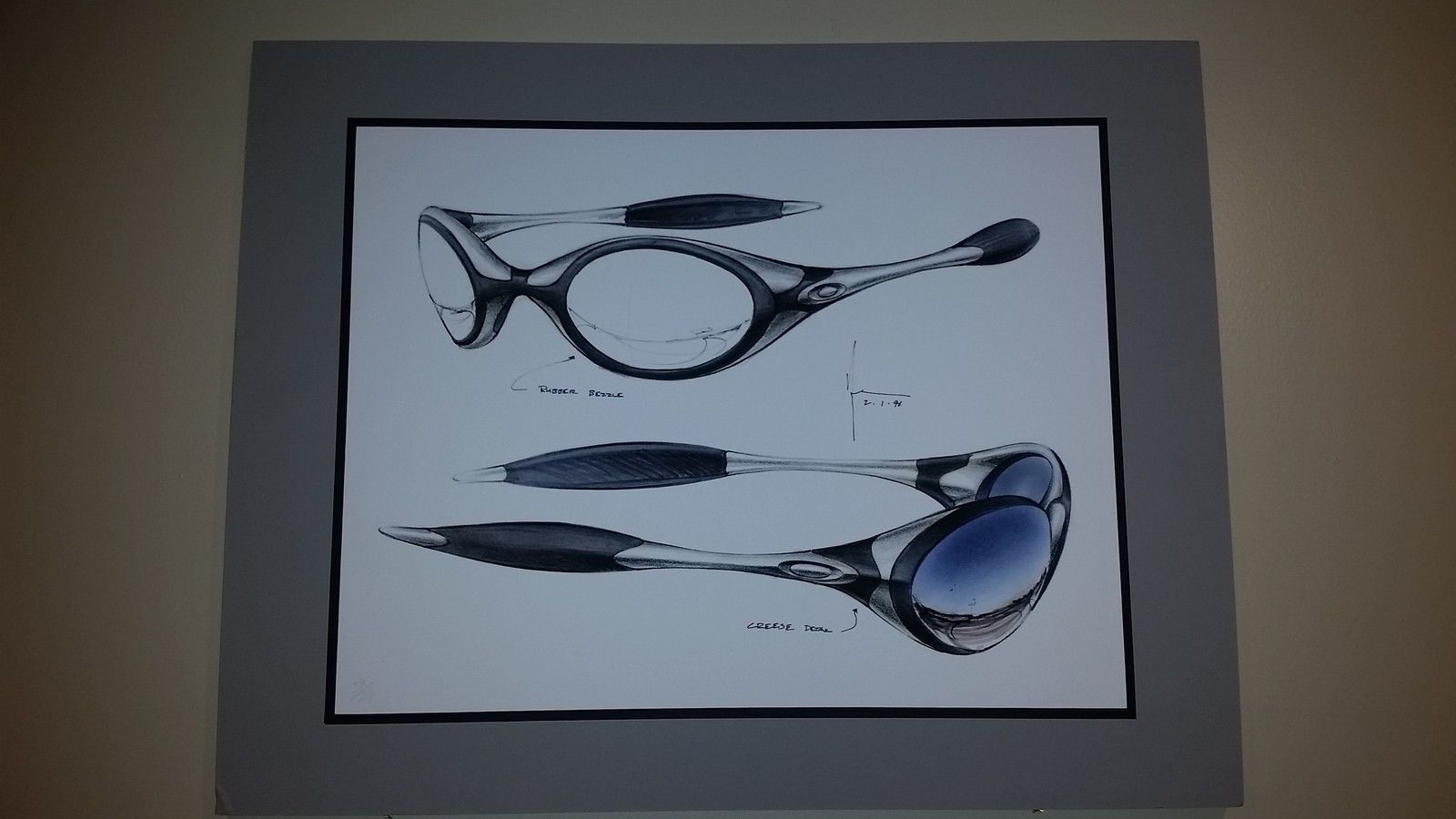 Oakley Giclee Romeo sketch/lithograph - 20151201_235803.jpg