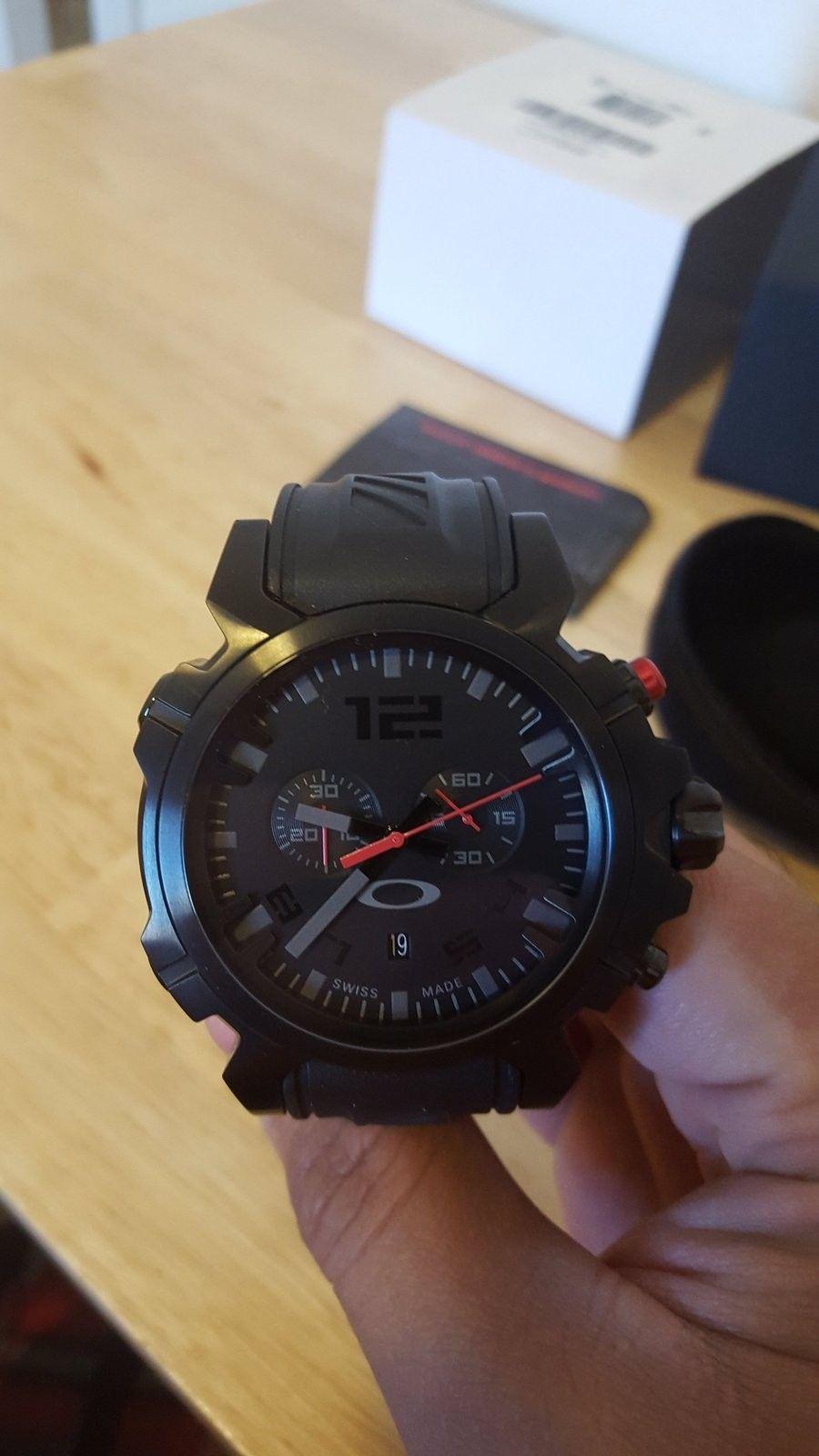 LNIB Stealth Double Tap Watch - 20151219_093658.jpg