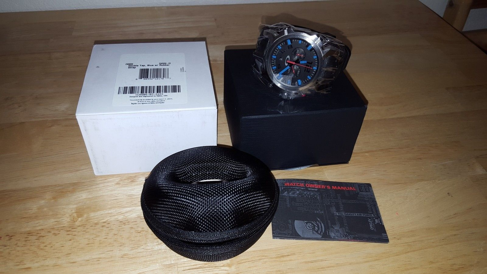 LNIB Stealth Double Tap $475 and BNIB Blue Dial Double Tap $500 - 20151221_222145.jpg