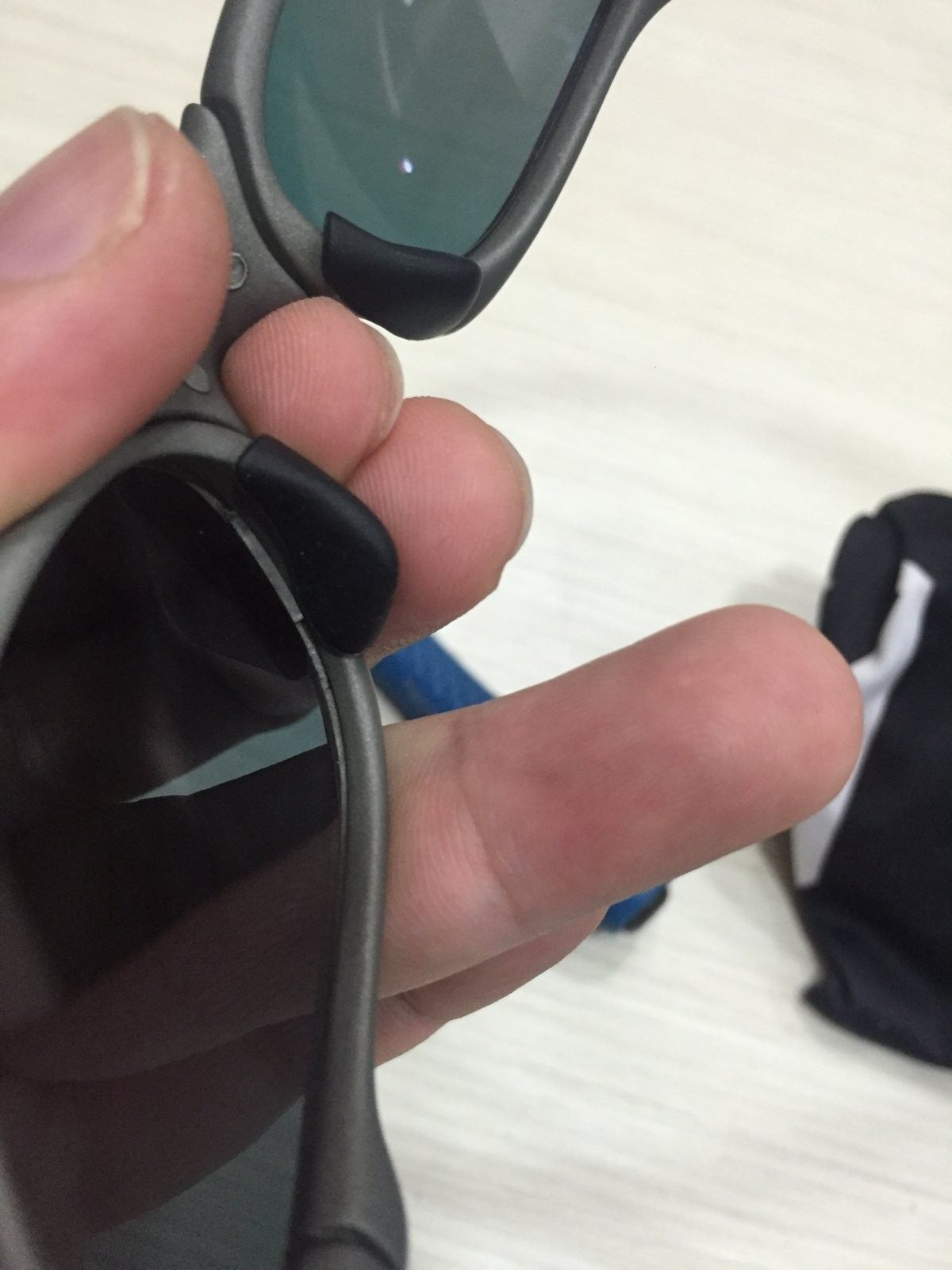 Oakley Penny - X - Metal Refinished - Aftermarket Wiggly Lenses - Fix - 2016-03-16 12.33.13.jpg