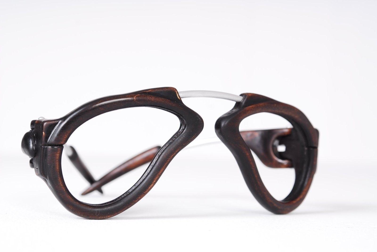 Spectacular Handmade Wooden Sunglasses - 2016-05 Jaromir Wire Dali 12.JPG