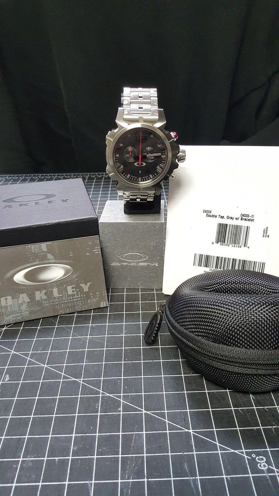 Double Tap - 800.00 Watch - Total Cost - Nib. w/metal bracelet w/case CONUS - 20160111_094917.jpg