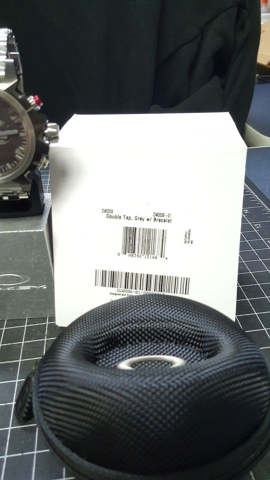 Double Tap - 800.00 Watch - Total Cost - Nib. w/metal bracelet w/case CONUS - 20160111_094920.jpg
