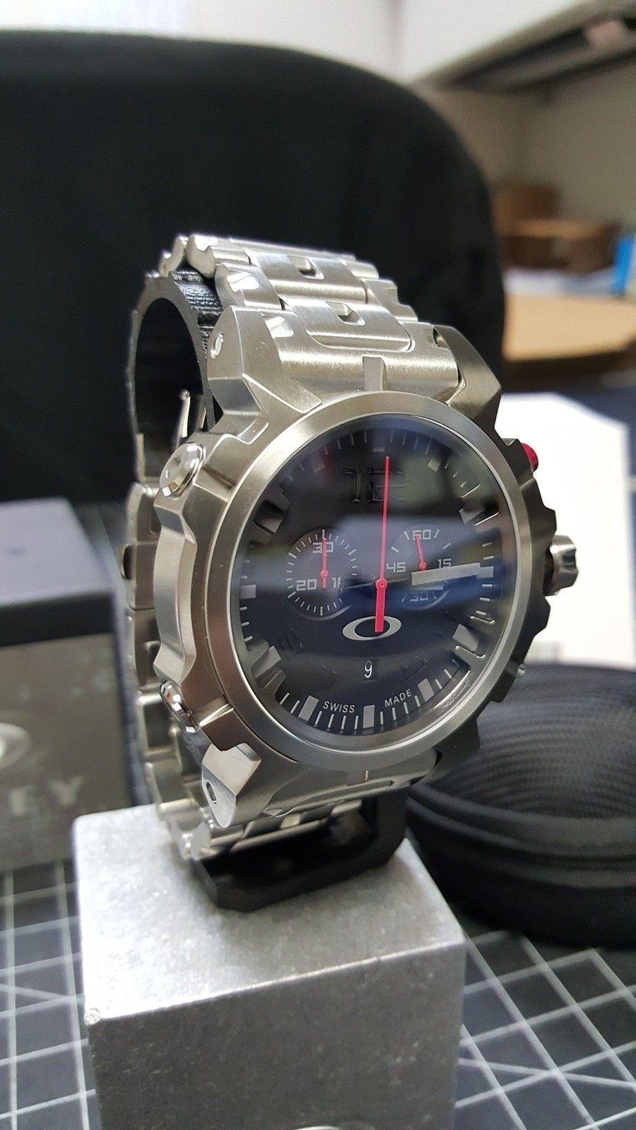 Double Tap - 800.00 Watch - Total Cost - Nib. w/metal bracelet w/case CONUS - 20160111_094953.jpg
