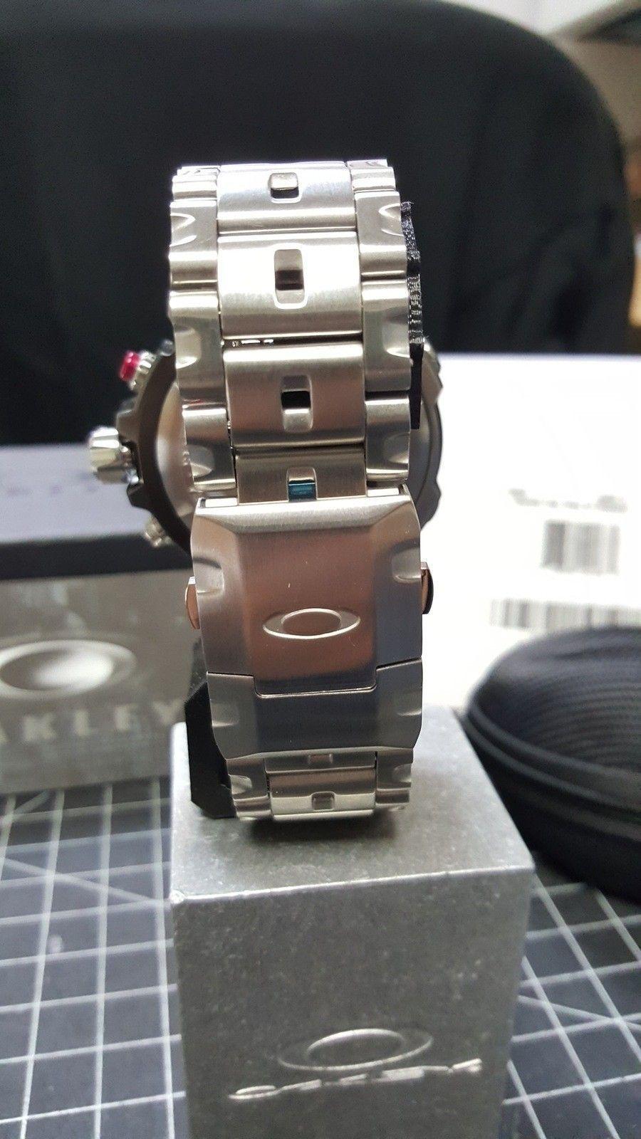 Double Tap - 800.00 Watch - Total Cost - Nib. w/metal bracelet w/case CONUS - 20160111_095009.jpg