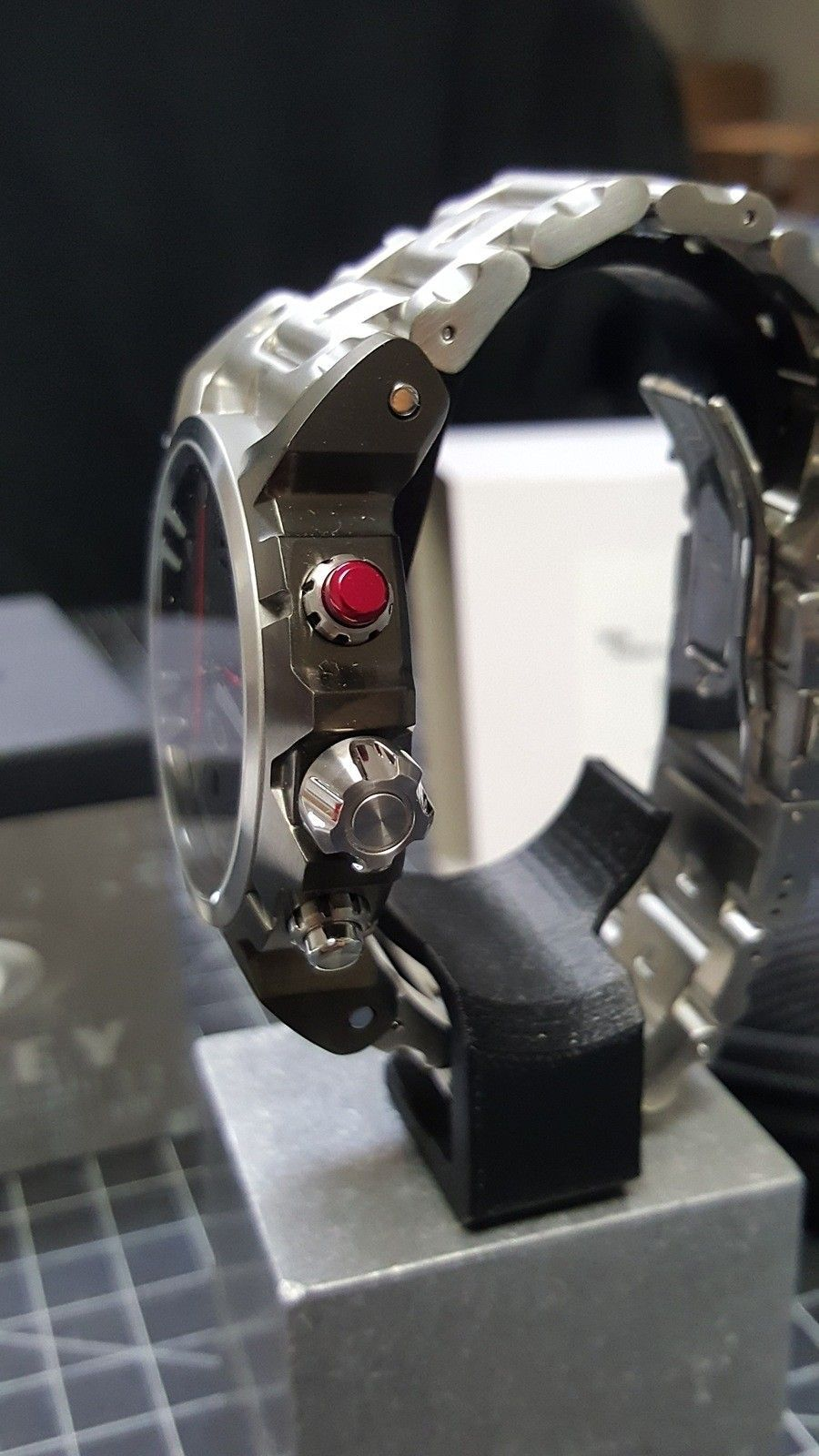 Double Tap - 800.00 Watch - Total Cost - Nib. w/metal bracelet w/case CONUS - 20160111_095039.jpg