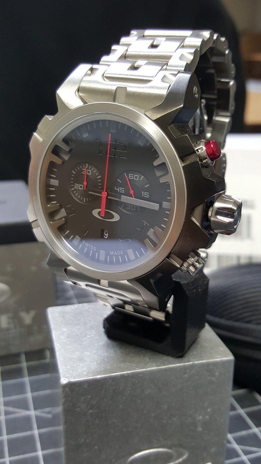 Double Tap - 800.00 Watch - Total Cost - Nib. w/metal bracelet w/case CONUS - 20160111_095050.jpg