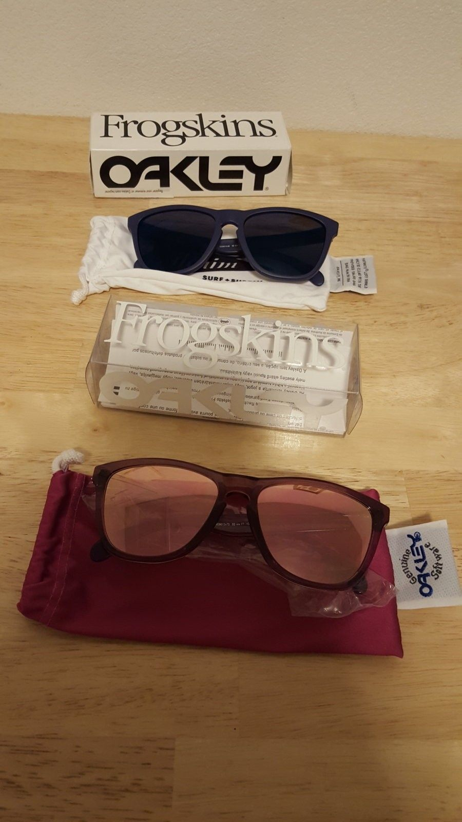 Alpine Pink and Pilgrim Beams Frogskins  $110 Shipped - 20160216_063610.jpg