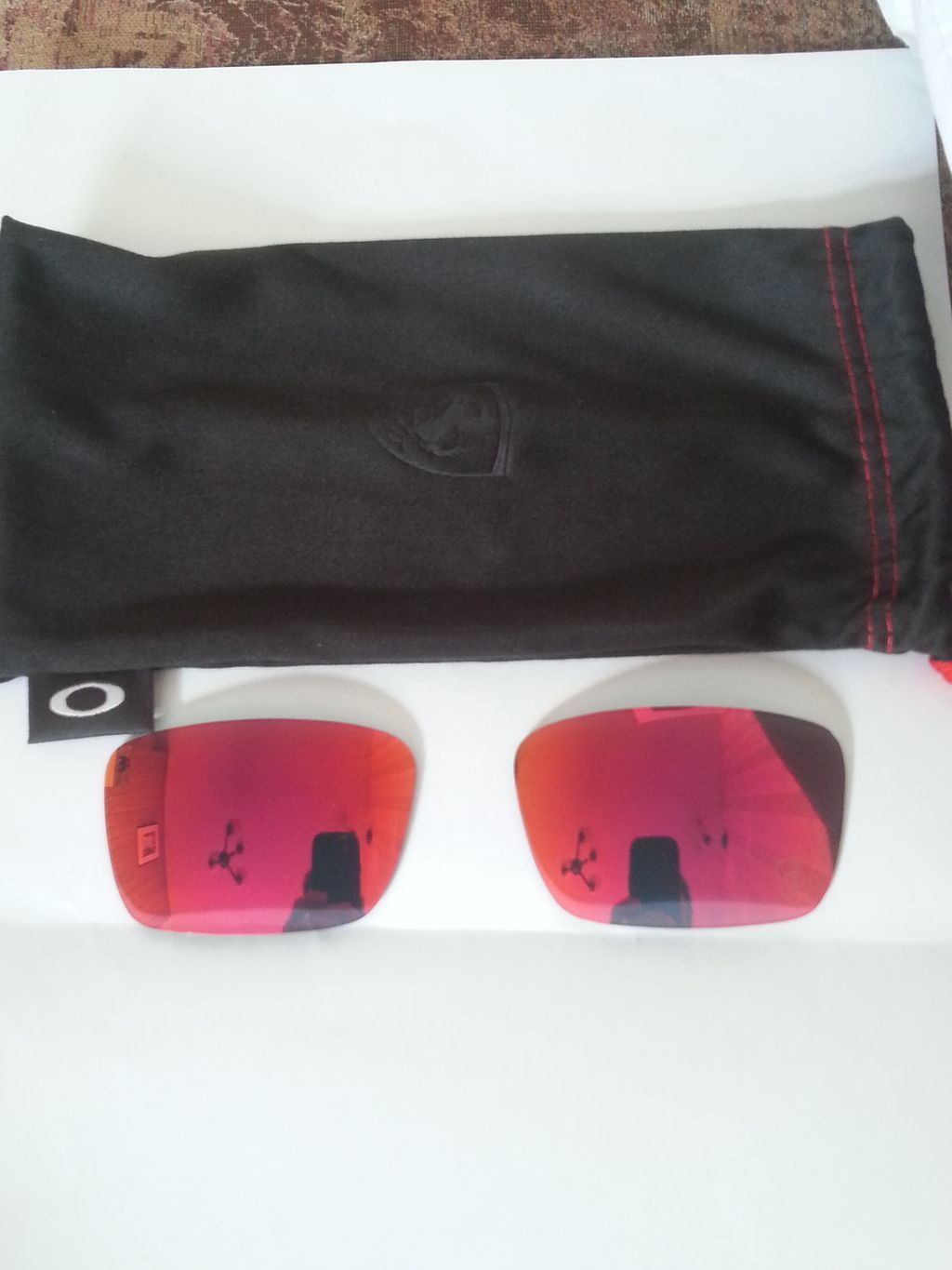 Saw these Ferrari lenses and microclear bag and bought them for $70. - 20160224_111629.jpg