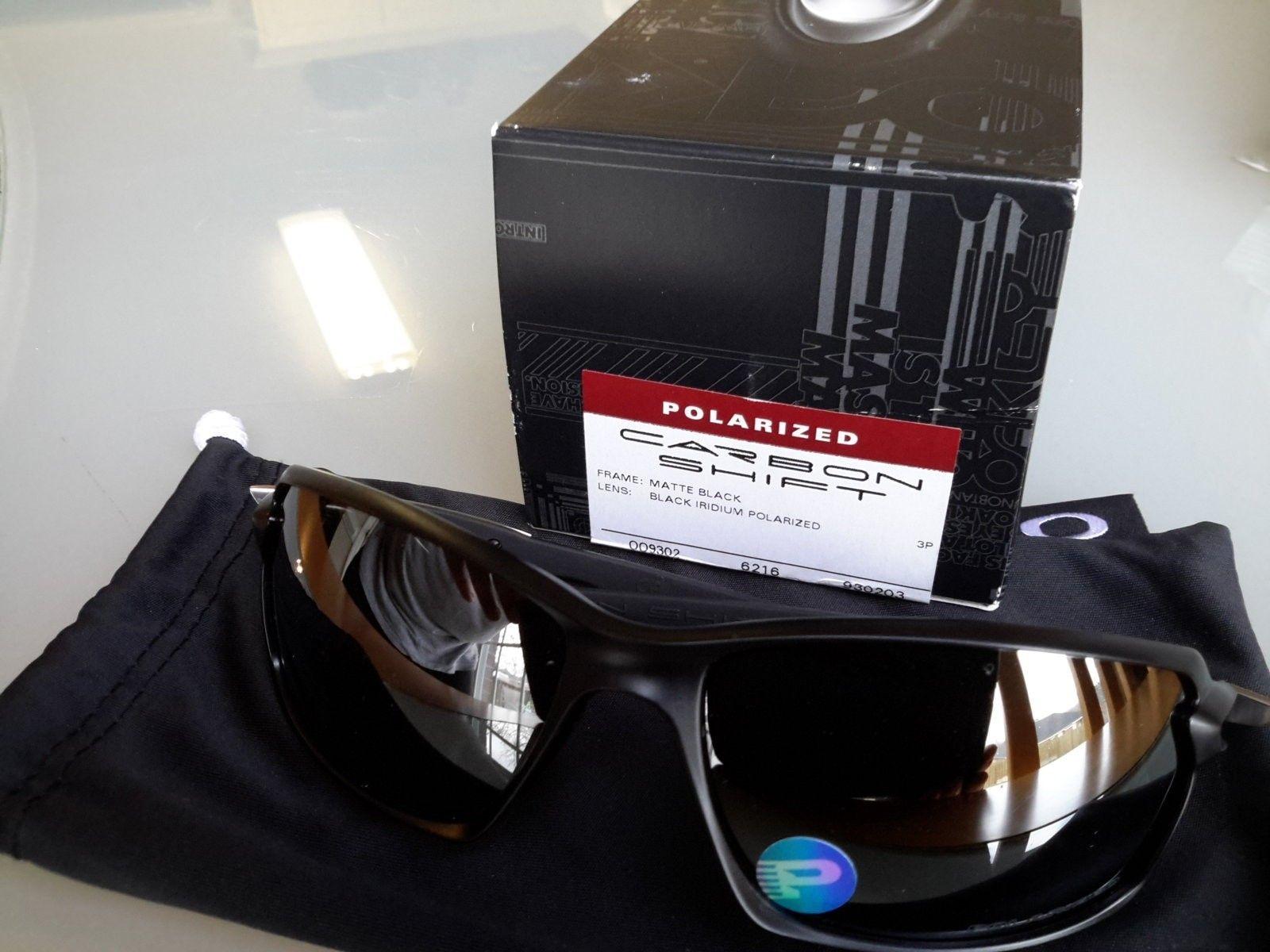 OAKLEY CARBON SHIFT MATTE BLACK IRIDIUM POLARIZED OO9302-03 - 20160311_075800.jpg