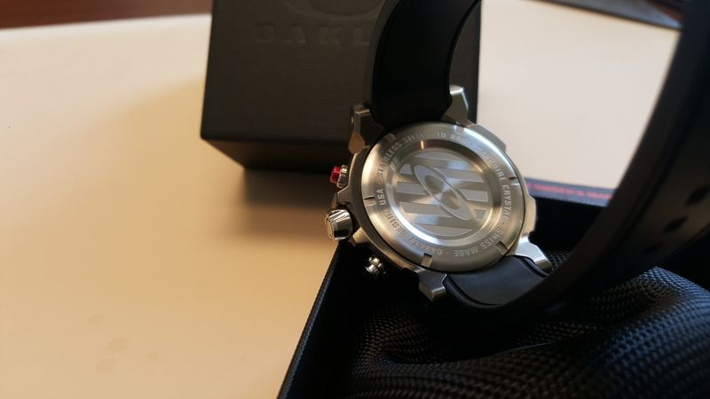 Double Tap Stainless Grey movement/face with unobtainium strap - 20160317_111531.jpg