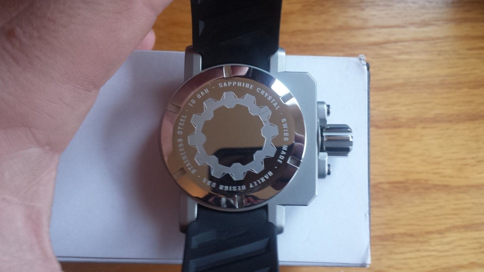 or selling Gearbox Black/Tan Dial - 20160319_124409.jpg