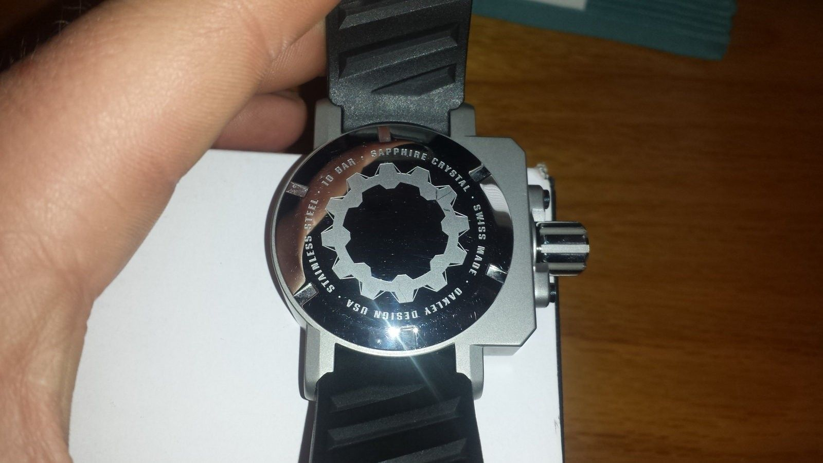 or selling Gearbox Black/Tan Dial - 20160319_124509.jpg
