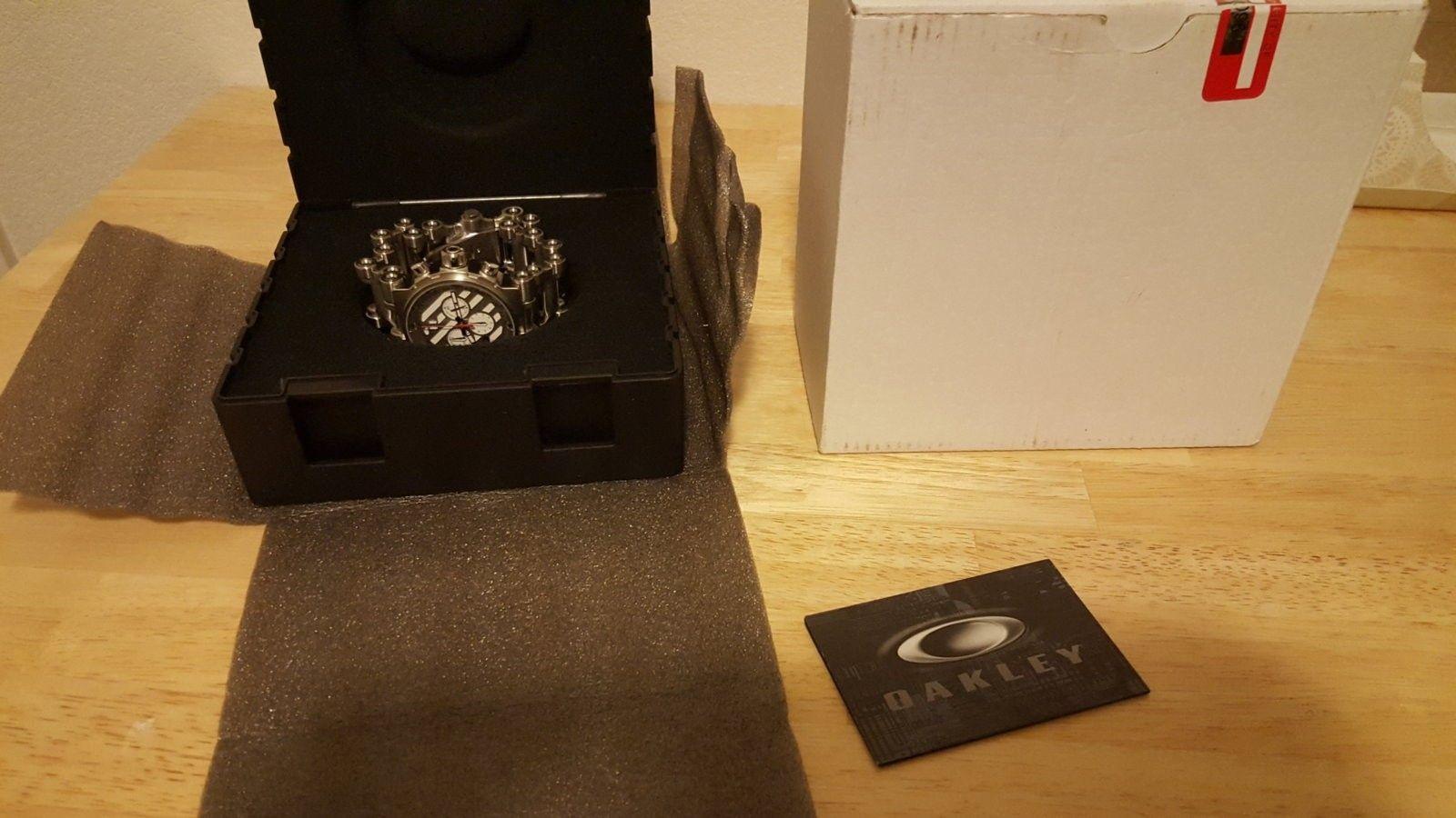 BNIB White Dial Hollow Point Watch $980 Shipped - 20160326_191631.jpg