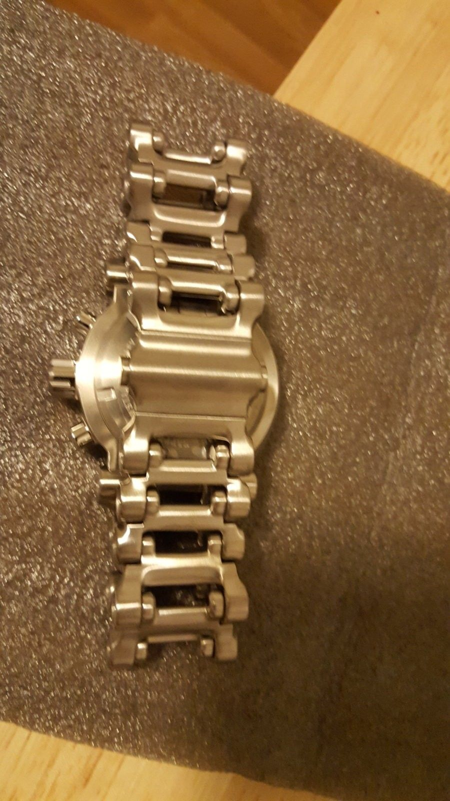 BNIB White Dial Hollow Point Watch $980 Shipped - 20160326_191703.jpg