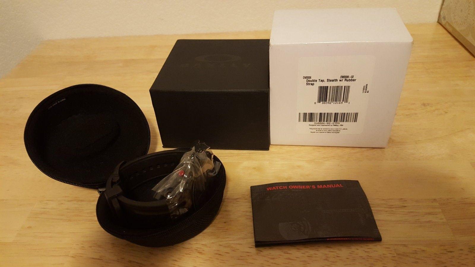 BNIB Stealth Double Tap Watch $450 Shipped - 20160330_003837.jpg