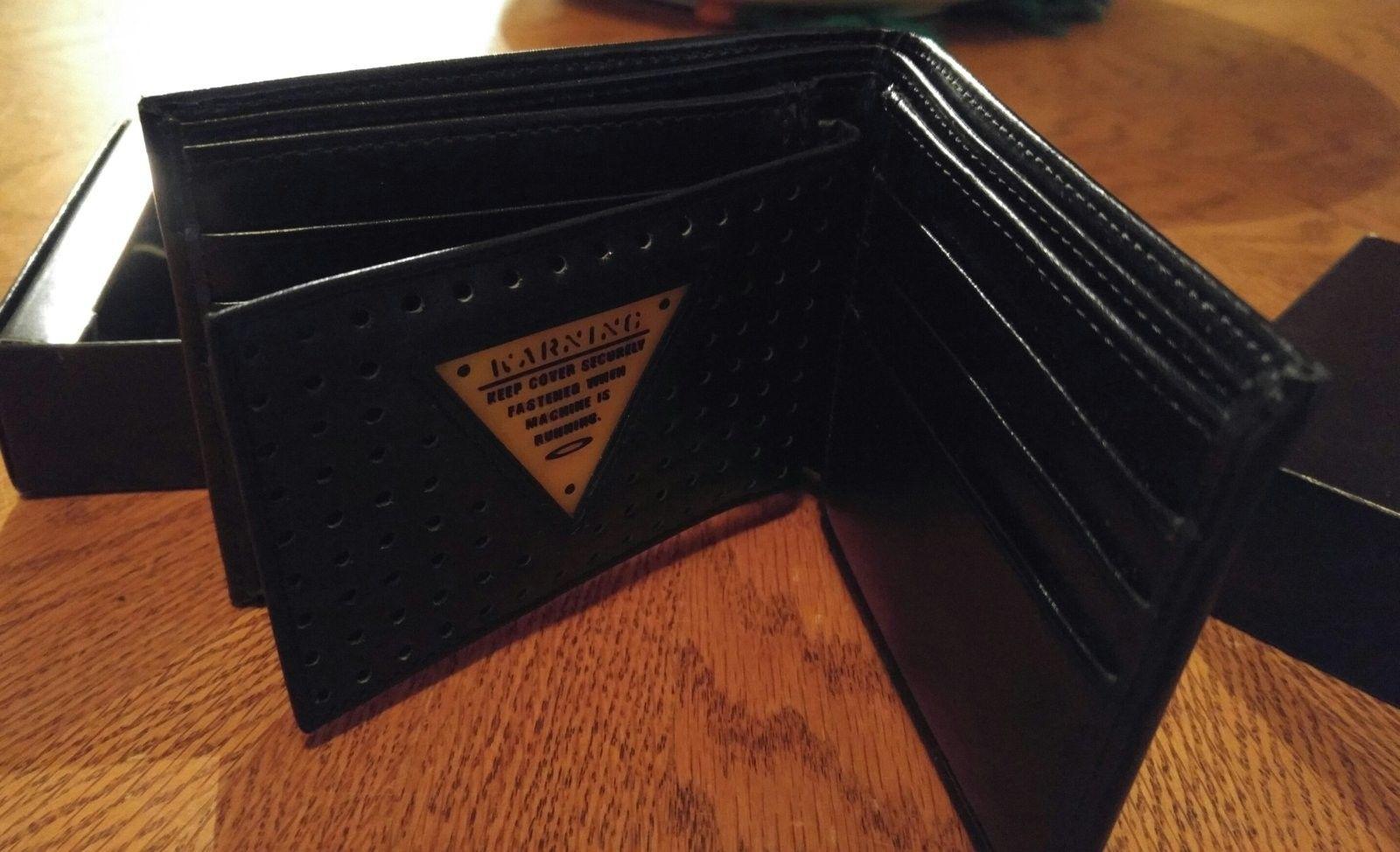 Bnib black leather wallet and bottle opener - 20160412_111535-1.jpg
