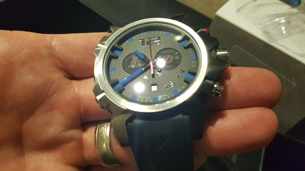 Double Tap Watch - Blue Face ***SOLD*** - 20160421_233807.jpg