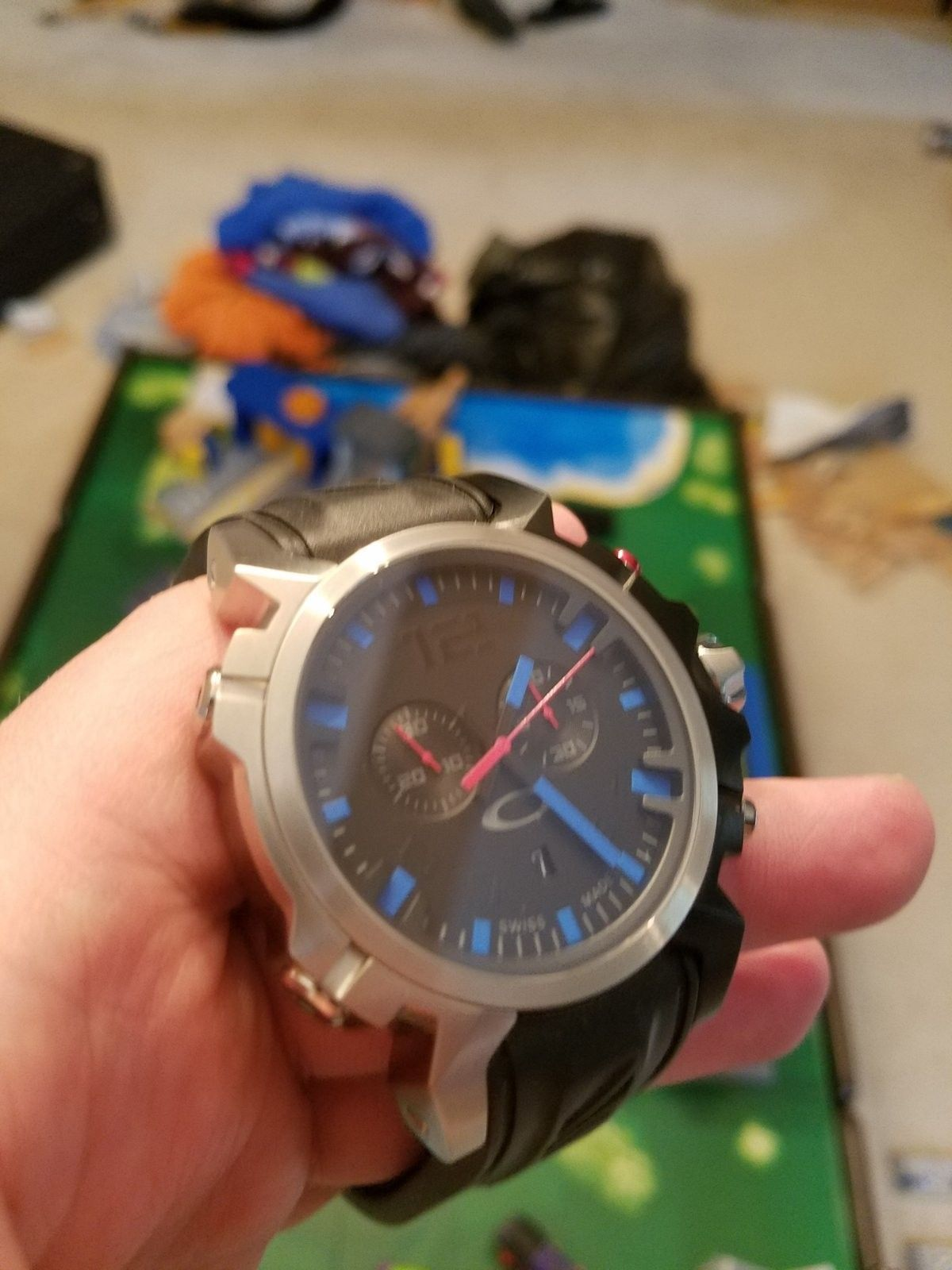 Like New Blue Double Tap with Watch Box $560 - 20160508_132611.jpg