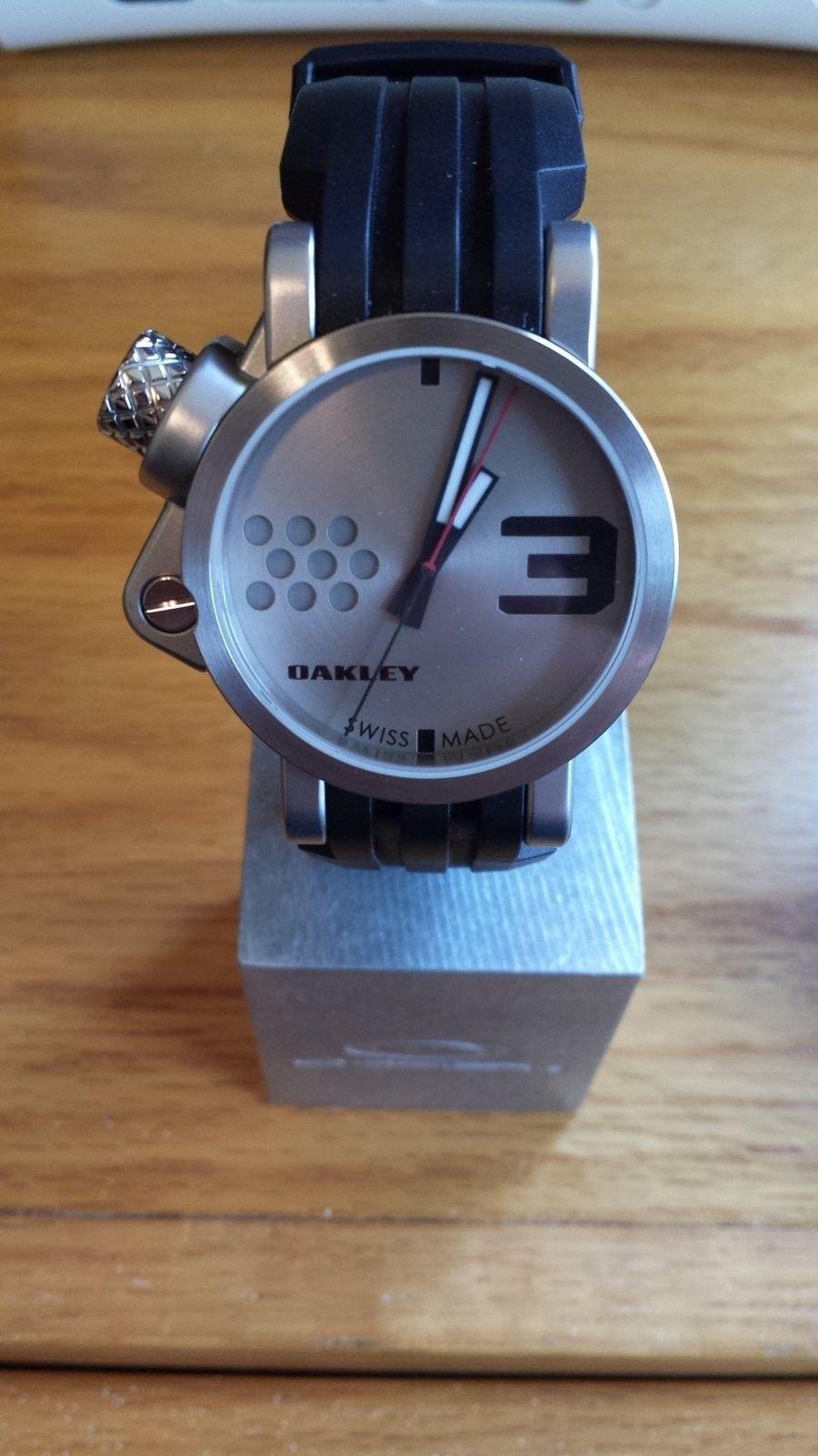 Oakley Fuse Box Watch Review Heritage Malta Manual