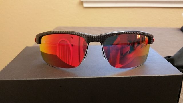$185 OBO Ferrari Carbon Blade Polished Carbon Fiber Ruby Iridium Polarized - 20160611_133352_zpssfn0upug.jpg