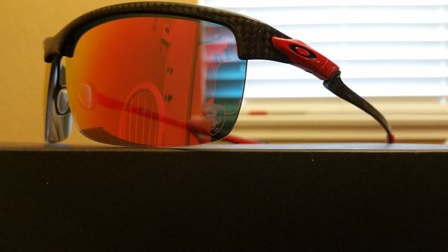 $185 OBO Ferrari Carbon Blade Polished Carbon Fiber Ruby Iridium Polarized - 20160611_133405_zpshcyomgaa.jpg