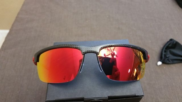 $185 OBO Ferrari Carbon Blade Polished Carbon Fiber Ruby Iridium Polarized - 20160611_133532_zpsoczsf6ob.jpg