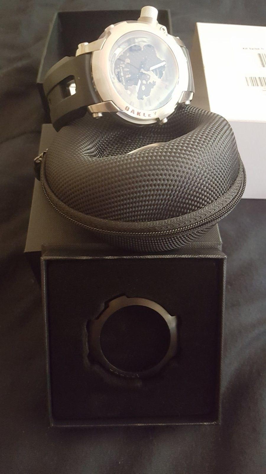 SALE Ti Killswitch with carbonfiber bezel and extra bezel - 20160714_155021.jpg