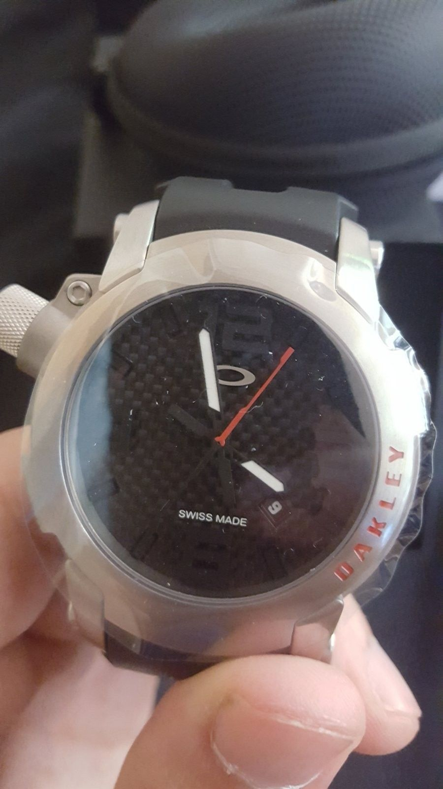 SALE Ti Killswitch with carbonfiber bezel and extra bezel - 20160714_155033.jpg