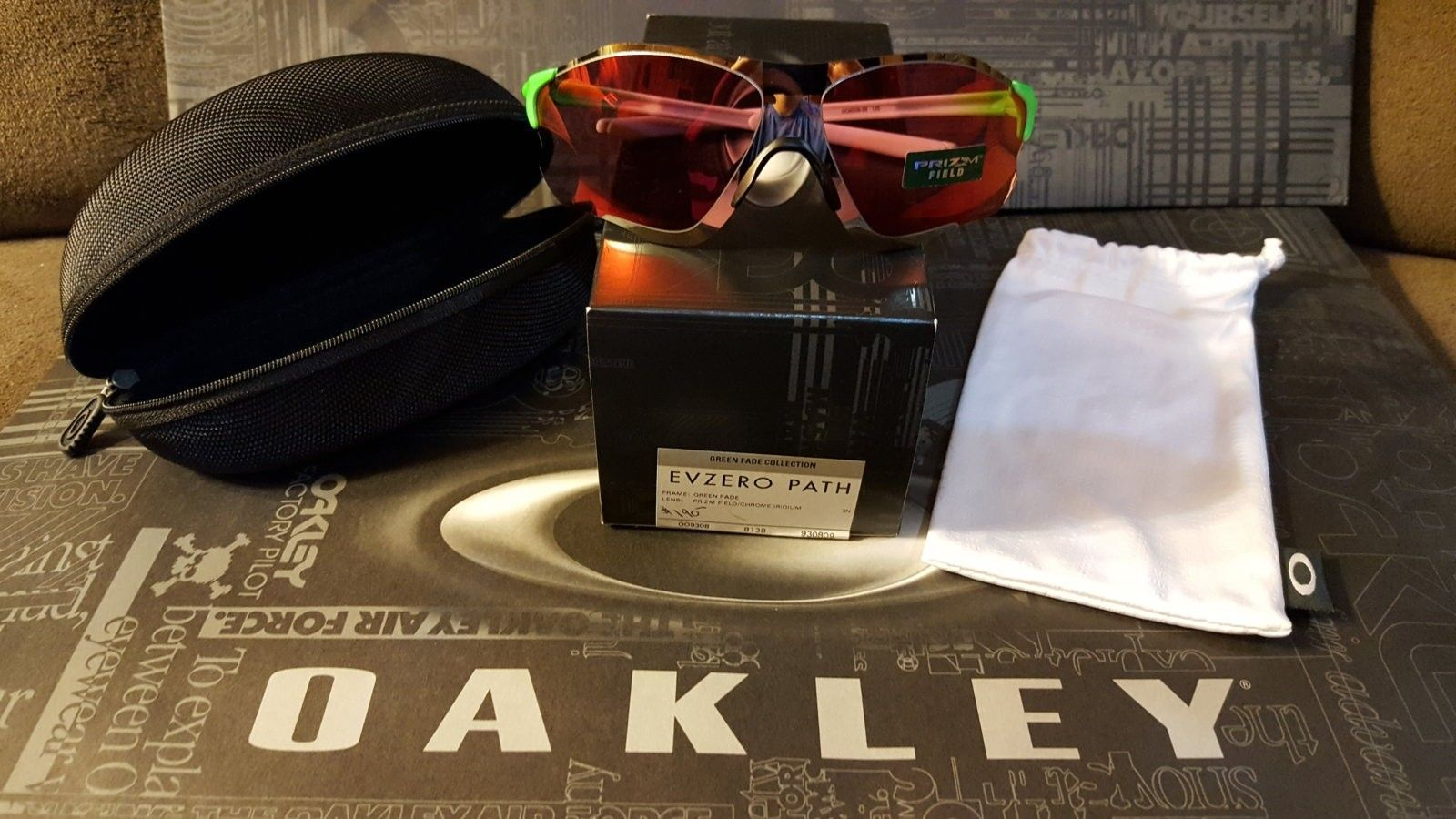 Oakley Green Fade Collection - available now! - 20160714_224655.jpg