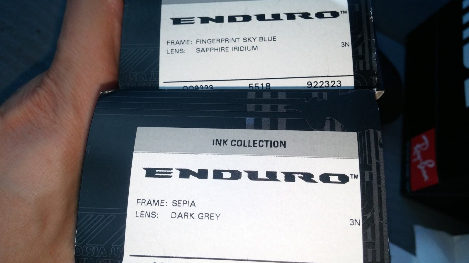 Trade for Jupiter squared lenses ...Oakley Enduro need to sell.   Asap .  Sepia with blue lenses - 20160823_161223.jpg