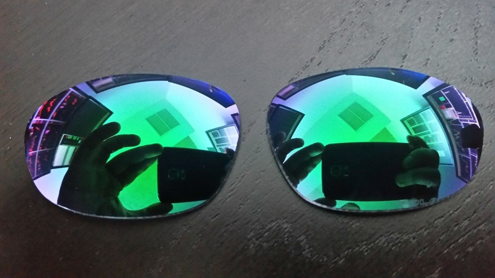 Jade Polarized lenses for XX - custom cut by Chris A Hardaway - 20160916_142914.jpg