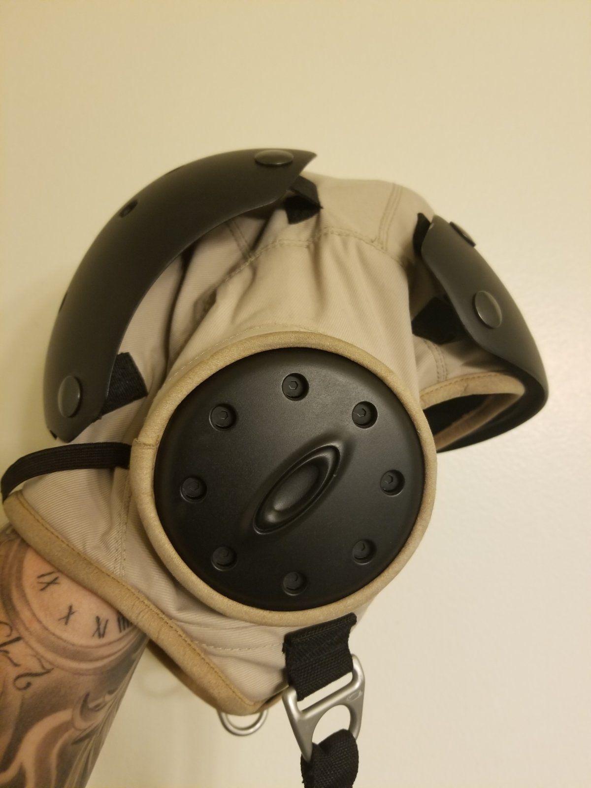 oakley flight deck and helmet