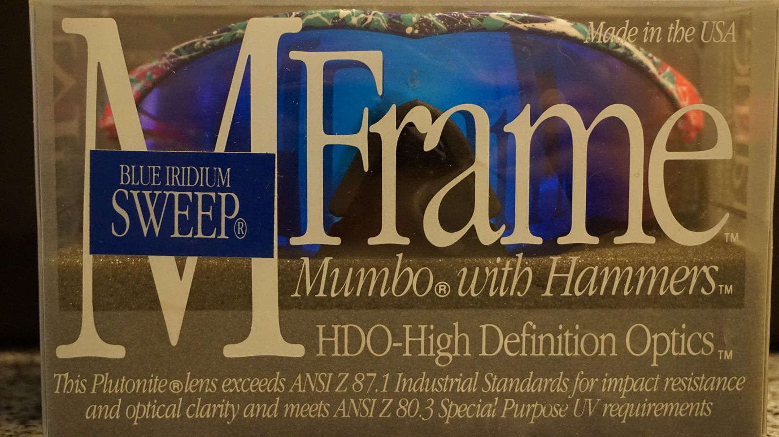 Mumbo MFrame with Hammers Splatter Purple / Blue Iridium - 28156173834_b305e2c3bd_h.jpg