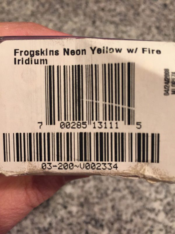 Frogskins Neon Yellow w/Fire Iridium (2007 release) - 28156266634_23739b2095_c.jpg