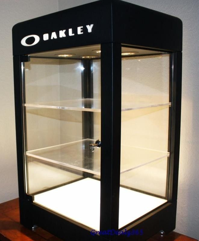 WTS: Single Wide Aluminum And Double Wide Black Display Cases ~ So Cal ~ - 28inchoakley.jpg