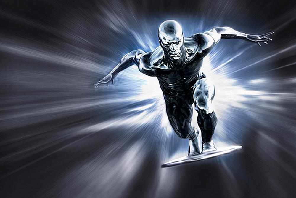Картинки серебряный человека