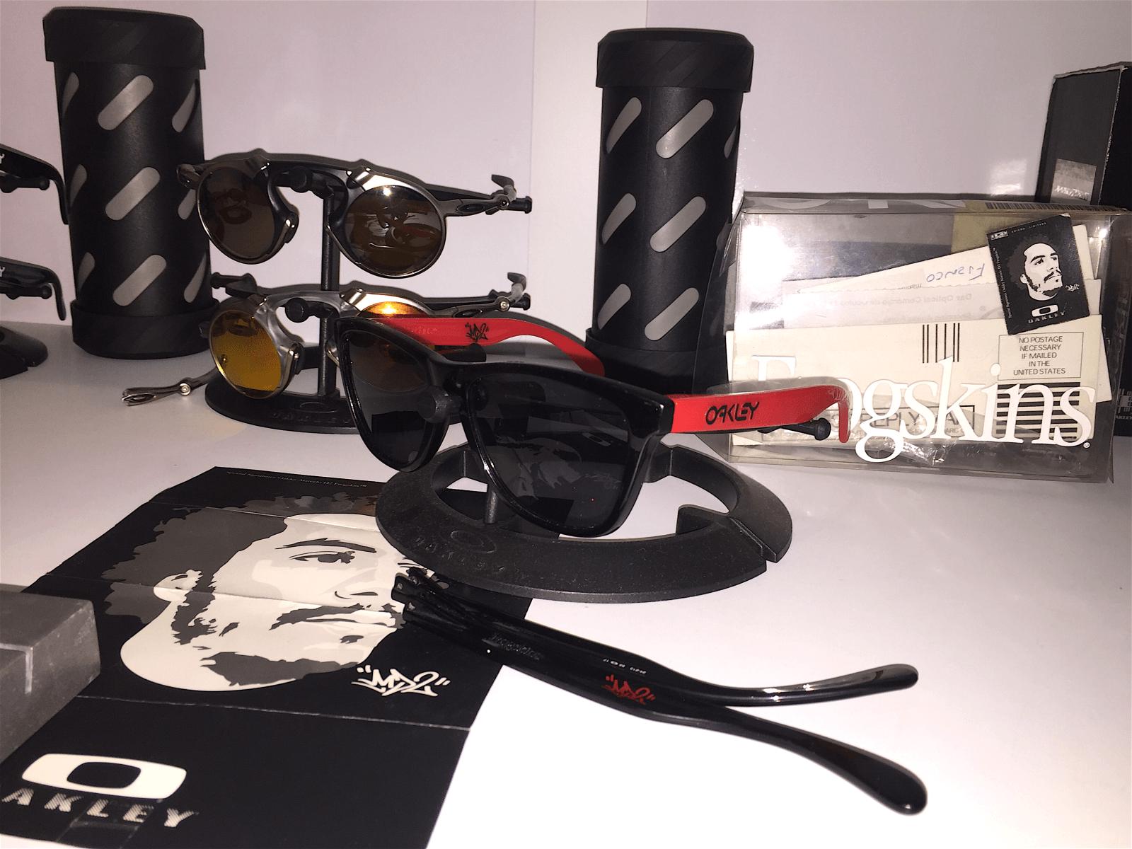 Marcelo D2 Oakley Frogskins - Rare - 2hwiruh.png