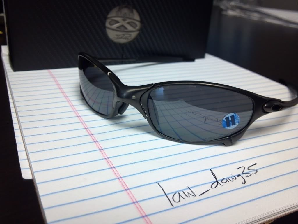 BNIB Juliet Carbon/Black Iridium Polarized - 307a011e.jpg