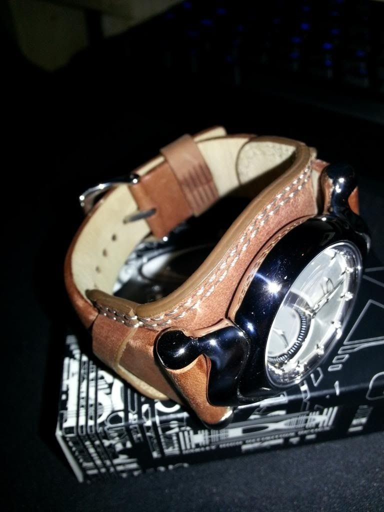 /WTS Oakley Jury Ladies Watch | Polished W Brown Saddle-back - 315_zps14c5bbae.jpg