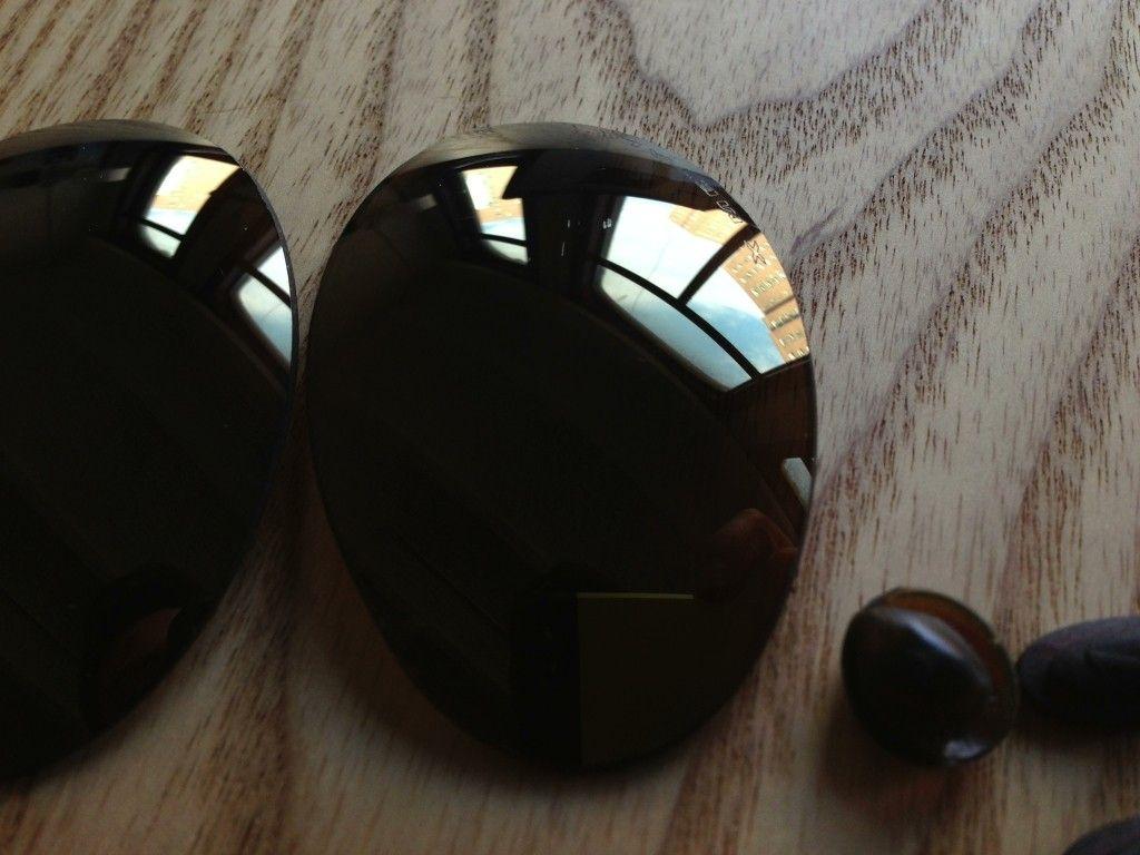 X Metal Romeo 1 Original Lenses (Used) W/ Exovista Ruby Red, And More - 347vcbp.jpg