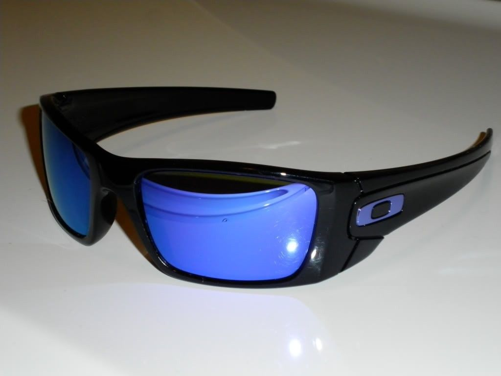 FS: Oakley Fuel Cell Custom Polished Black/Violet Iridium....Cannot Get Thru Oakley - 353159d1.jpg