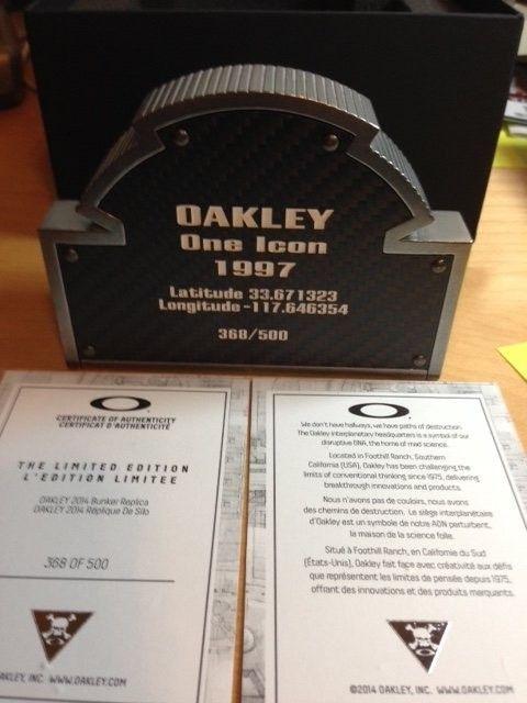 Oakley Bunker #368, #374  SOLD - 368.JPG