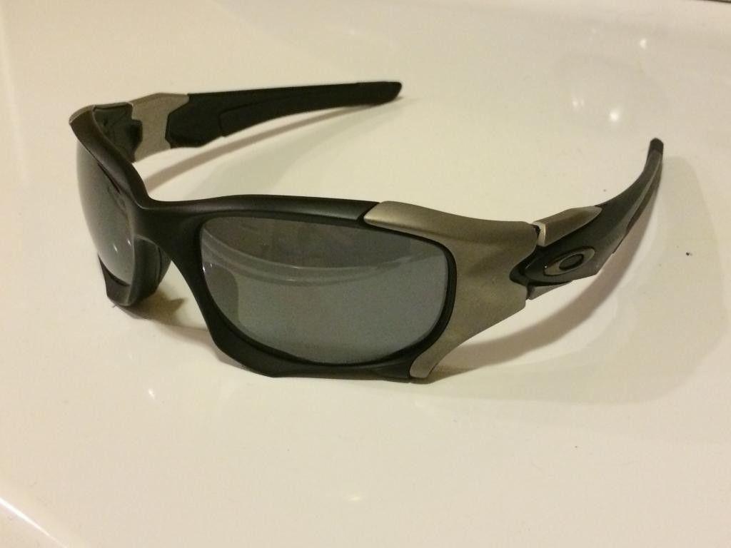 Pit Boss II Matte Black/Black Iridium Polarized OO9137-01 - 36FEC1D1-3CA9-4E0A-9AE9-AFE38FB9F75B.jpg