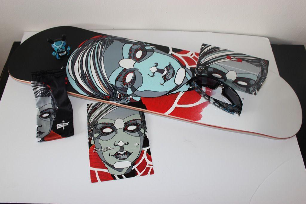 V2oak's 14th DIY: Custom David Flores Art REPLICA skate deck - 3_zpsfgbt67xb.jpg