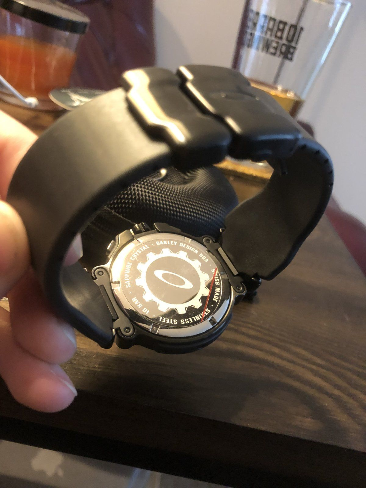 First Oakley Watch - 3BFB335A-3C0B-40D5-8FB9-481BF66ACD0E.jpeg