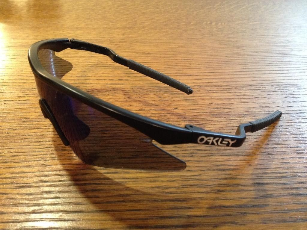 Oakley M Frame from 1990 - Sweep Lens in Blue Iridium