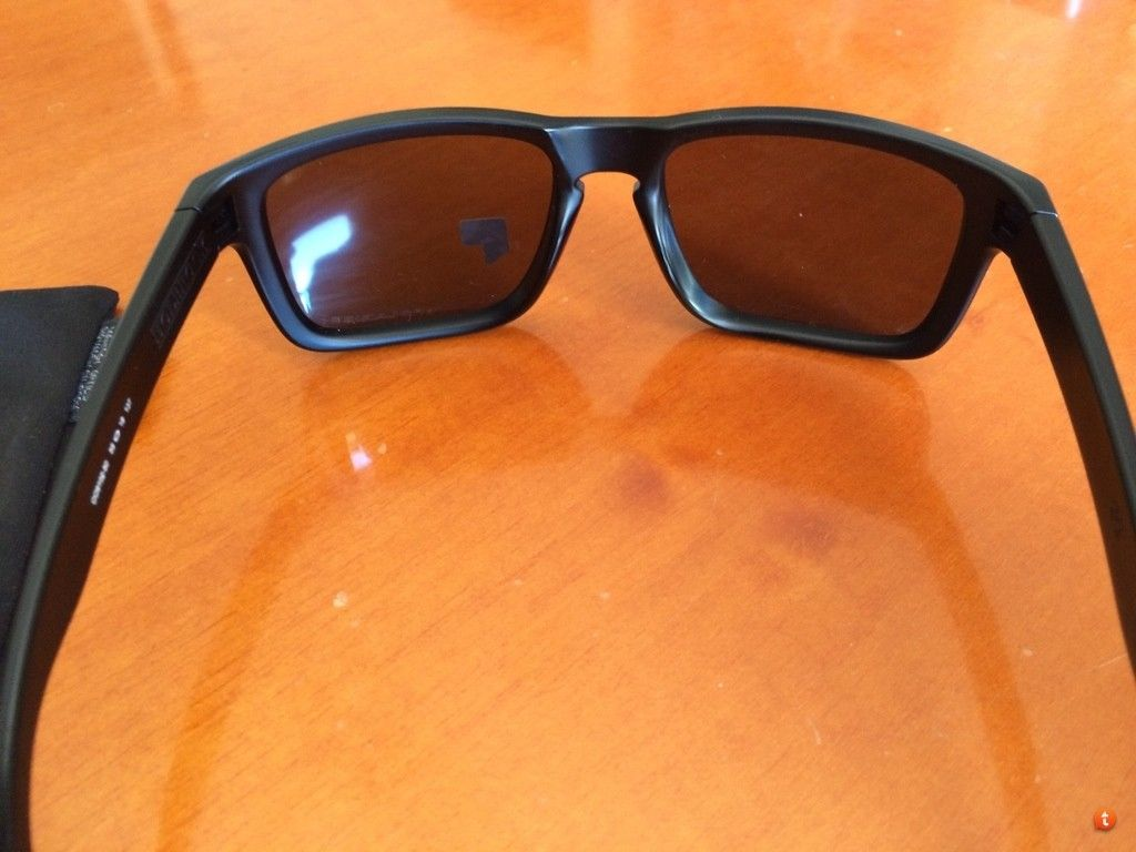 Holbrook Matte Black Frame With Emerald Iridium Polarized New For Trade. - 3ytepaze.jpg