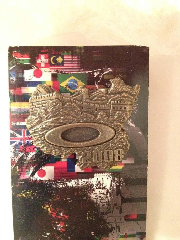 Oakley Beijing Olympic pin . - 4108820d-e213-7d22.jpg